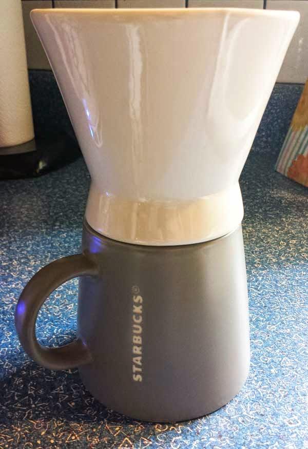 Starbucks Clic Pour Over Brewer And Mug Set