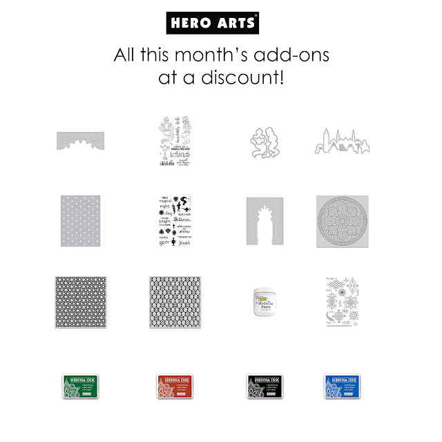 All December add-ons for 10.7% off