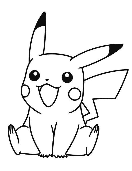 Tranh tô màu Pokemon 80