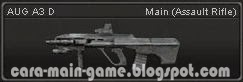 AUG A3 D Senjata Point Blank PB Weapon