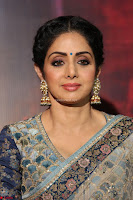 Sri Devi in designer saree stunning beauty at the launch of MOM movie Trailer~  Exclusive 023.JPG