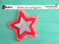 come realizzare una stella di carta pesta