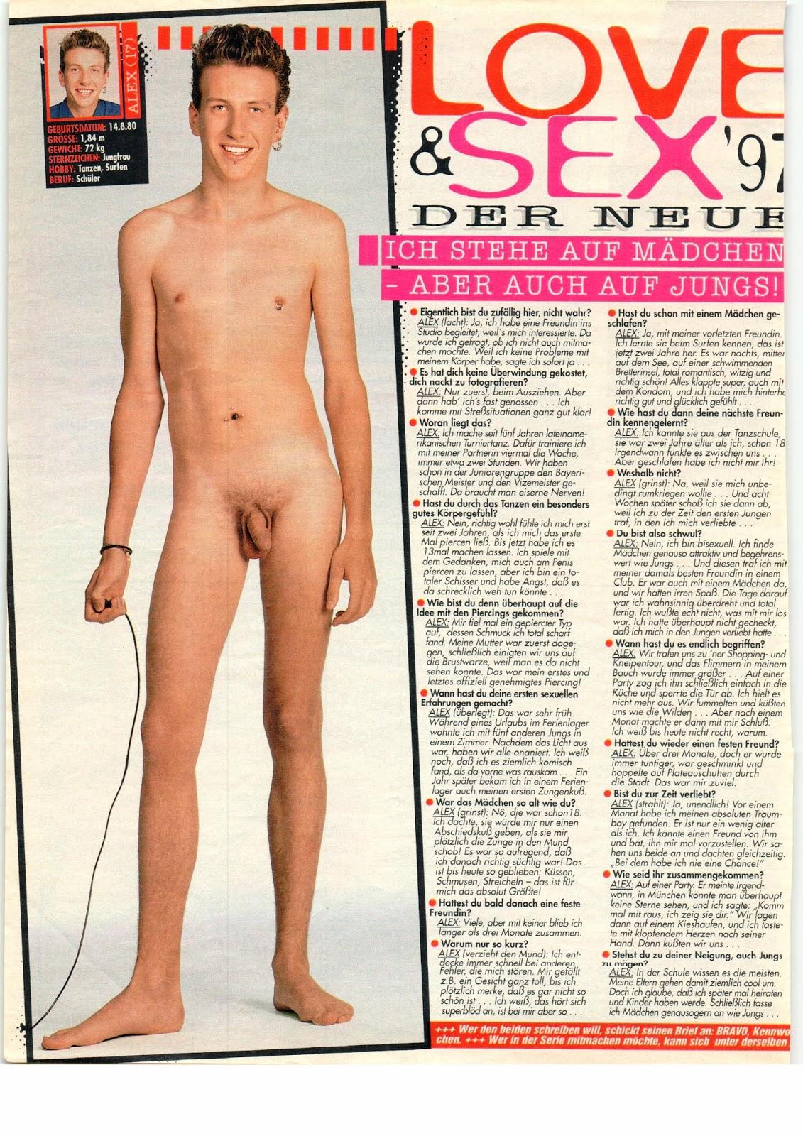 Nackt bilder bravo jungs Bravo Dr