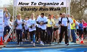 How To Plan A Charity Walk Or Run