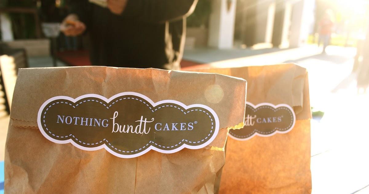 Unconfined Aspirations Nothing Bundt Cakes