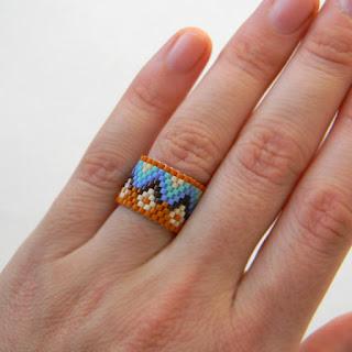 купить широкое женское кольцо с узором с орнаментом этническое украшение