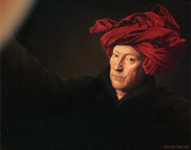 Portrait Of A Man In A Turban - Jan Van Eyck, 1433