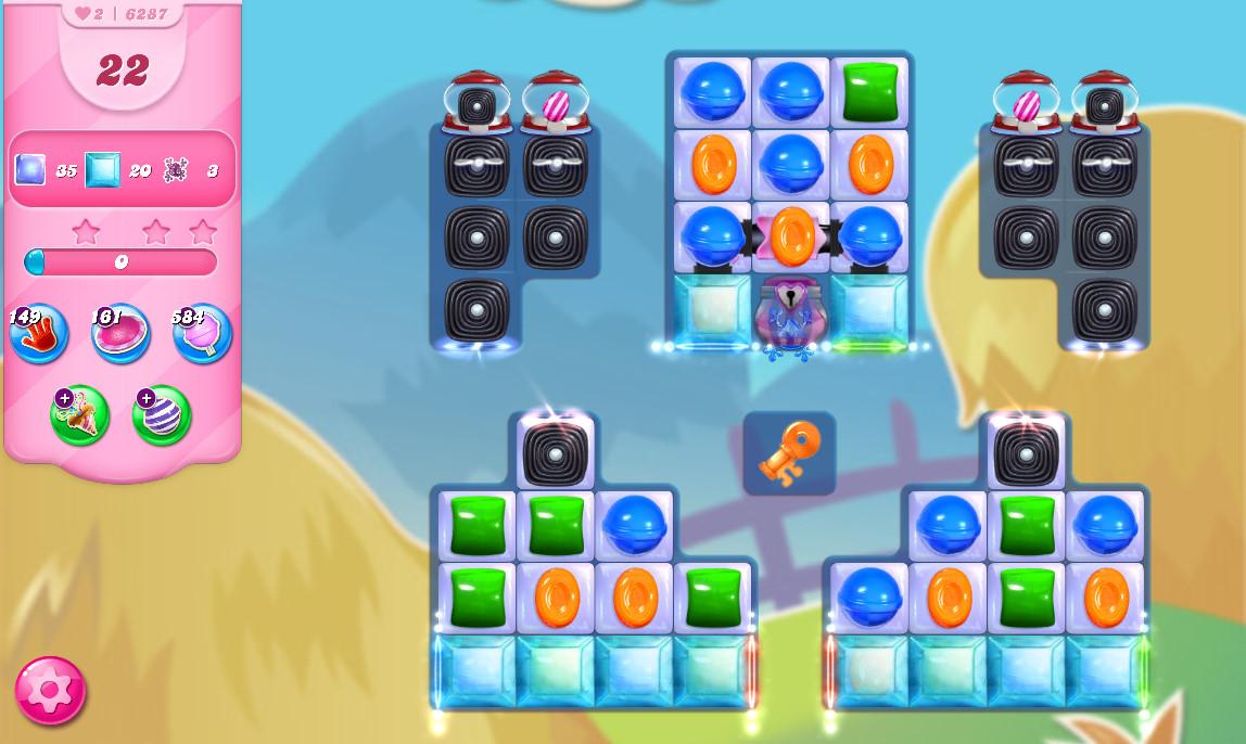 Candy Crush Saga level 6287