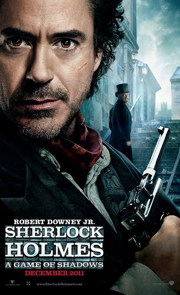 Poster Of Sherlock Holmes A Game Of Shadows 2011 720p Hindi BRRip Dual Audio