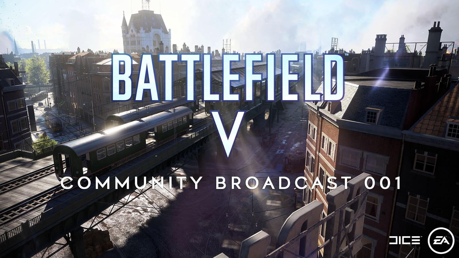 Battlefield V - Transmissão da Comunidade 001