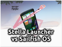 Stella Launcher vs Sailfish OS