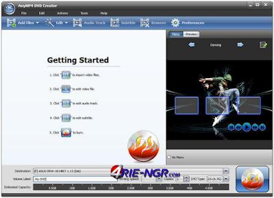 AnyMP4 DVD Creator 6.1.50 Full