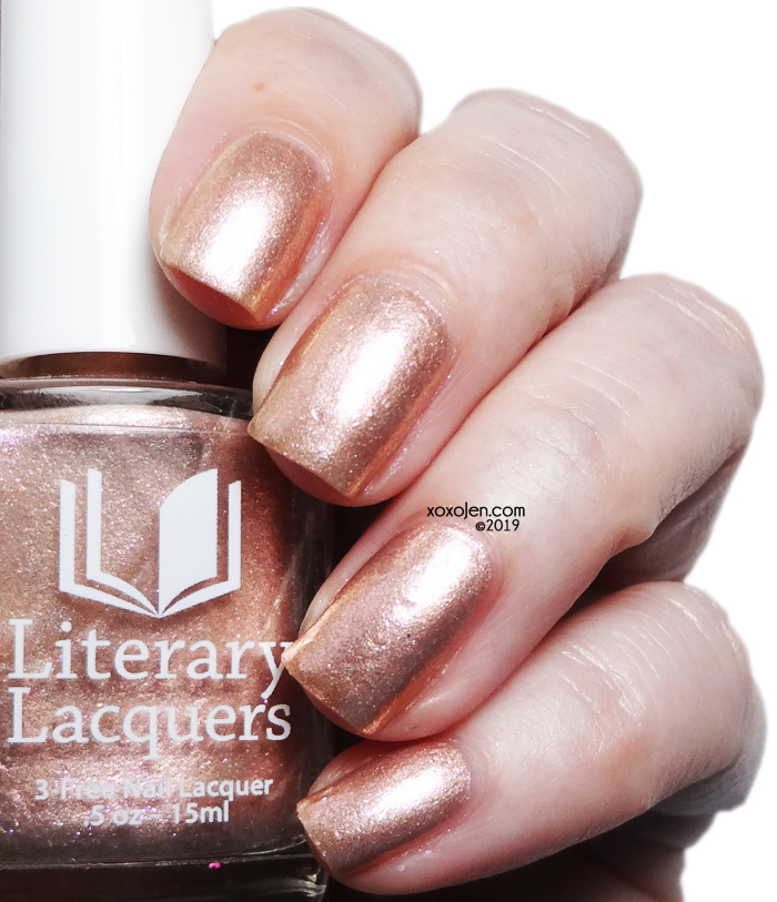 xoxoJen's swatch of Literary Lacquers Sunstone Palace