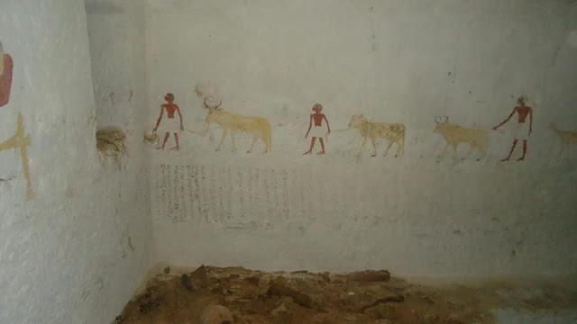 У Єгипті виявили гробницю зі сценами потойбіччя на фресках