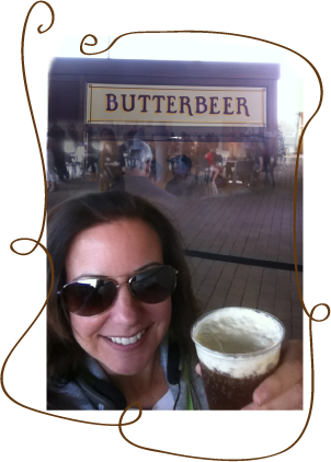 Butter beer for all good witches, wizards and even muggles