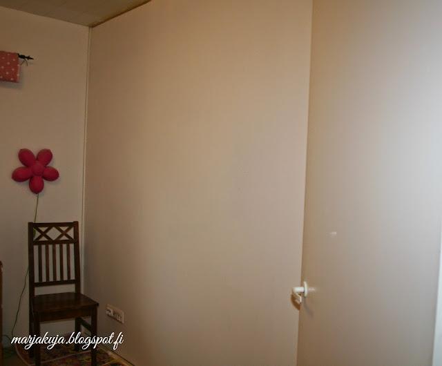 pohjamaalattu seinä