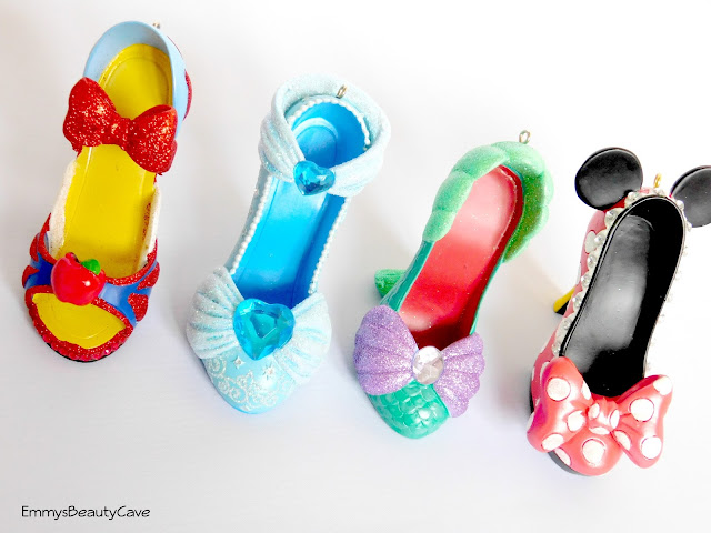 Disney Collectable Miniature Shoe Ornaments