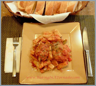 Chicken Pasta Bake | www.BakingInATornado.com | #recipe #dinner