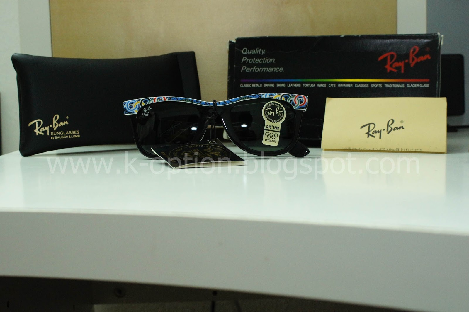7020d669489 RayBan Wayfarer Summer Games Olympic Edition Los Angeles 1932 52  SOLD
