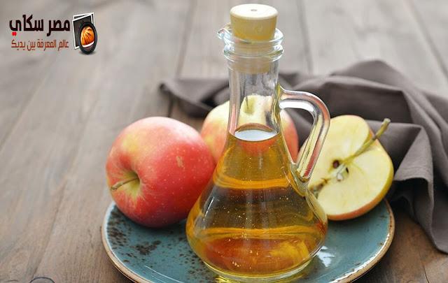 خطوات عمل غسول بعصير التفاح للعينين