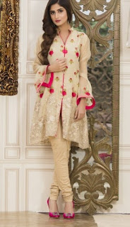 Veena Durrani Party Wear Tunics 2017