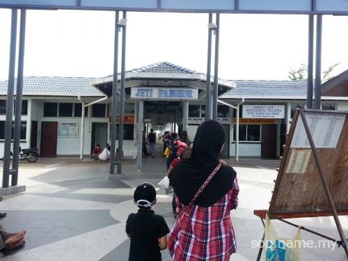 Percutian ke Pulau Pangkor