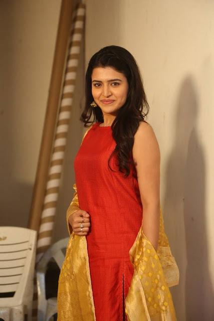Chitra Shukla Stills At Rangula Ratnam Pre Release Event