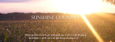 Sunshine Country Blog
