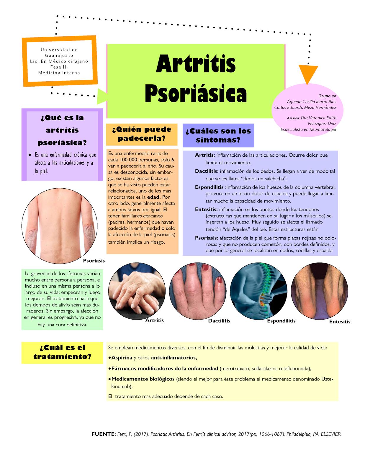 artritis psoriasica dieta sin gluten