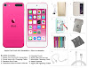 Apple iPod Touch 6th Generation and Accessories, 32GB - Pink