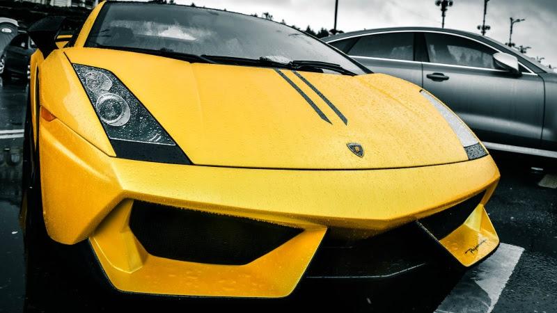 Lamborghini on Urban Streets