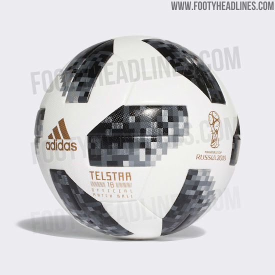 c6fe45f38cd Adidas Telstar 2018 World Cup Ball Released - Footy Headlines
