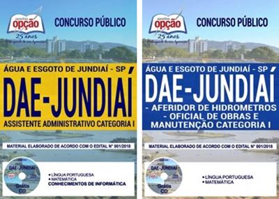 Apostila Concurso DAE de Jundiaí 2018