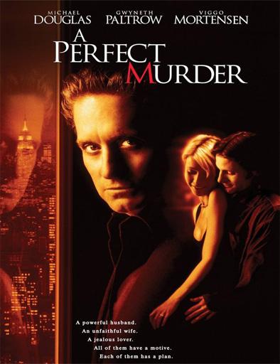 Ver Un crimen perfecto (A Perfect Murder) (1998) Online