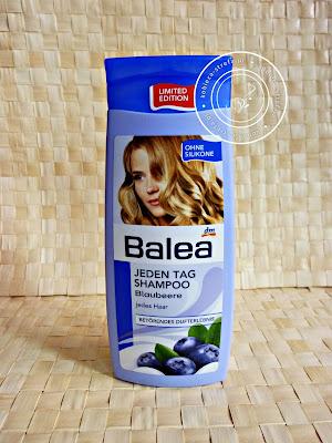 Balea - borówkowy/jagodowy szampon do codziennego stosowania - czyli niebieska miłość! :)
