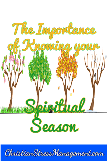 The importance of knowing your spiritual season