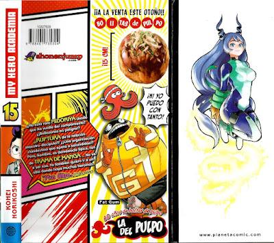 "Reseña de ""My Hero Academia"" (僕のヒーローアカデミア) vol.15 de Kōhei Horikoshi - Planeta Cómic"