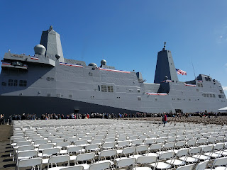 commissioning ceremony USS Portland