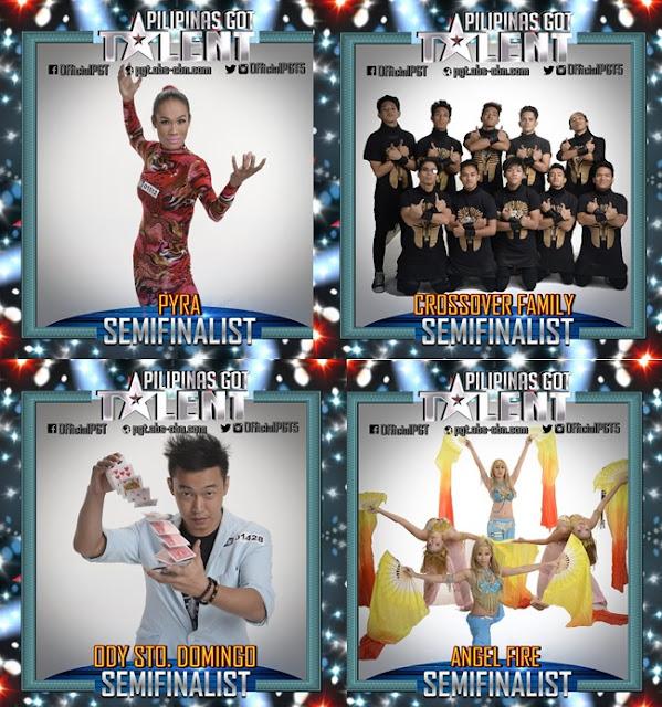 PGT Semi finalists