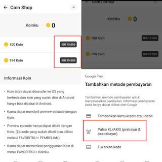 How to buy Webtoon coins with iOS-Android balance