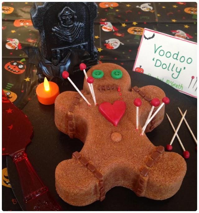 Voodoo Doll Bundt Cake