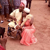 True Love! Physically challenged man weds in wheelchair, shares trad-wedding photos