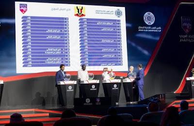 قرعة دوري ابطال العرب2018 2019