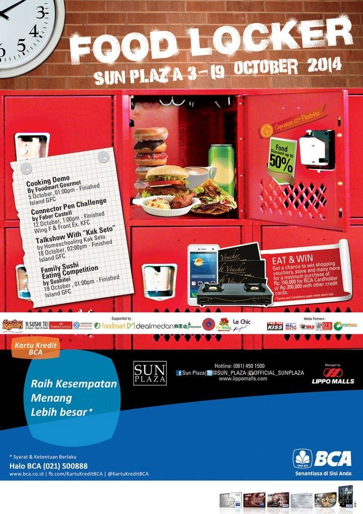 Food Locker di SUN Plaza Medan