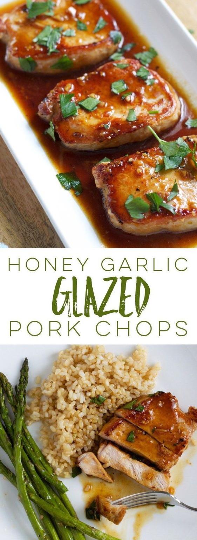 Honey Garlic Glazed Pork Chops