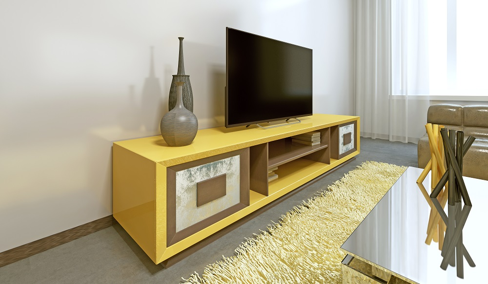 Timber TV Unit