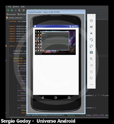 Android Studio - VideoView