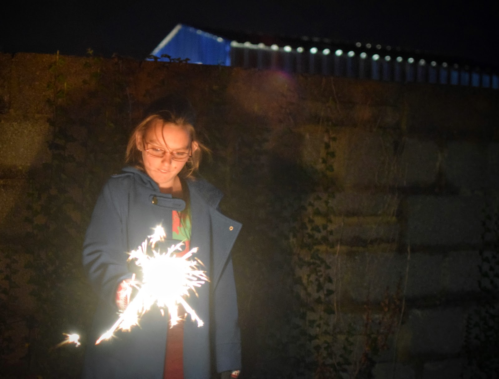 , Bonfire (Guy Fawkes) Night 5th November 2016- Fireworks, Sparklers and Hot Chocolate
