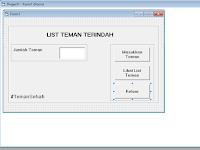 Tutorial Membuat List nama dengan Database menggunakan Visual Basic