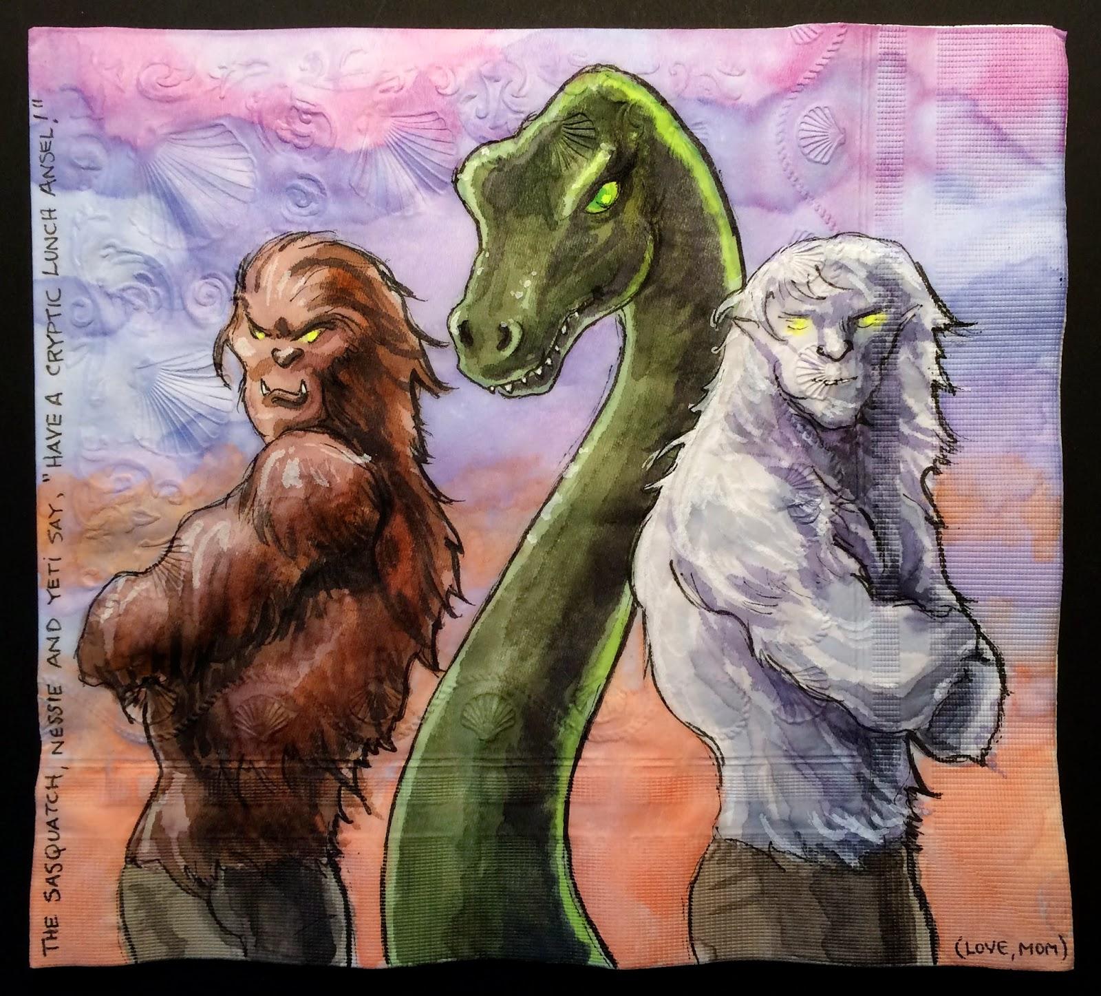 Pics For > Yeti Vs Bigfoot